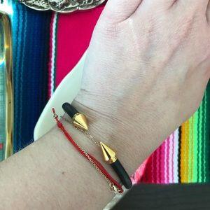 Vita Fede Jewelry - Vita Fede Mini Titan Two Tone Bracelet